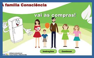 Compras da família Consciência