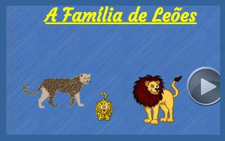 A família de leões