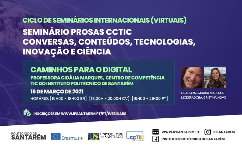 Seminário 2 TEDesperta – Caminhos para o Digital