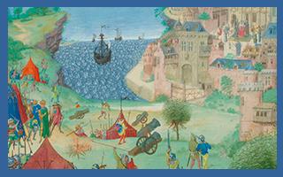 Ordenação dos acontecimentos (1383-85)