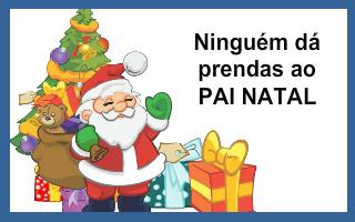 Ninguém dá prendas ao Pai Natal