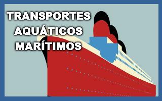 Transportes aquáticos marítimos