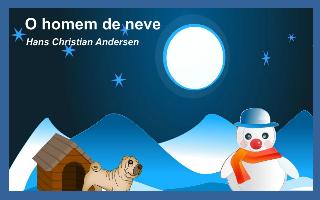 O homem de neve