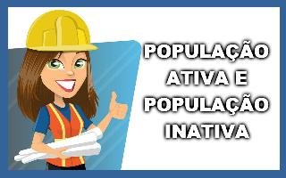 População ativa e população inativa
