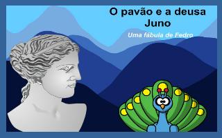 O pavão e a deusa Juno