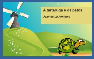 A tartaruga e os patos
