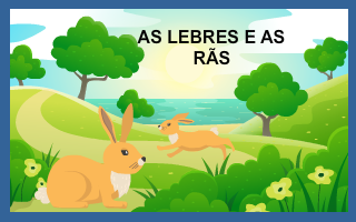 As lebres e as rãs