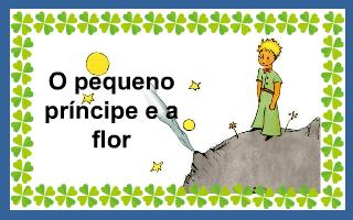 O pequeno príncipe e a flor