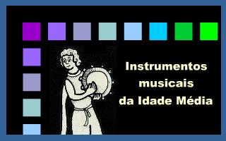 Instrumentos musicais da Idade Média